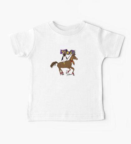 Penguin Horse Swag Flag Baby Tee