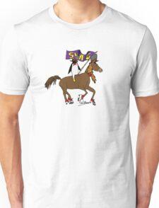 Penguin Horse Swag Flag Unisex T-Shirt