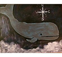 Space Whale Photographic Print