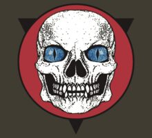 Blue Eyed Skull by GUS3141592
