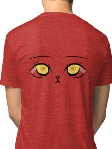 Kawaii Kitten Eyes Tri-blend T-Shirt