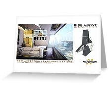 Rise Above Greeting Card