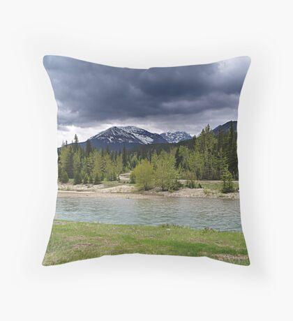 Riverbank Throw Pillow