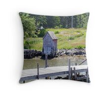 A Very Private Place Throw Pillow