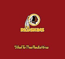 Washington Redskins Phone Case by Gwaffy