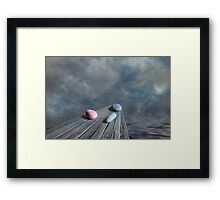 Red Rock Framed Print