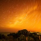 Star Trails in Torquay by Danka Dear