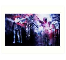 Dancing With Excluded Creatures Art Print
