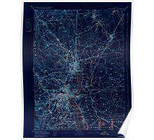 Massachusetts  USGS Historical Topo Map MA Providence 352978 1894 62500 Inverted Poster