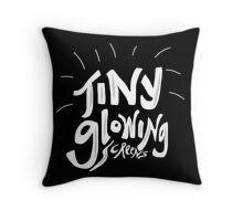 Watsky - Tiny Glowing Screens Throw Pillow