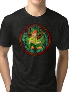 Peter Pan Stained Glass Tri-blend T-Shirt