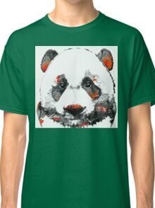 Panda Bear Art - Black White Red - By Sharon Cummings Classic T-Shirt
