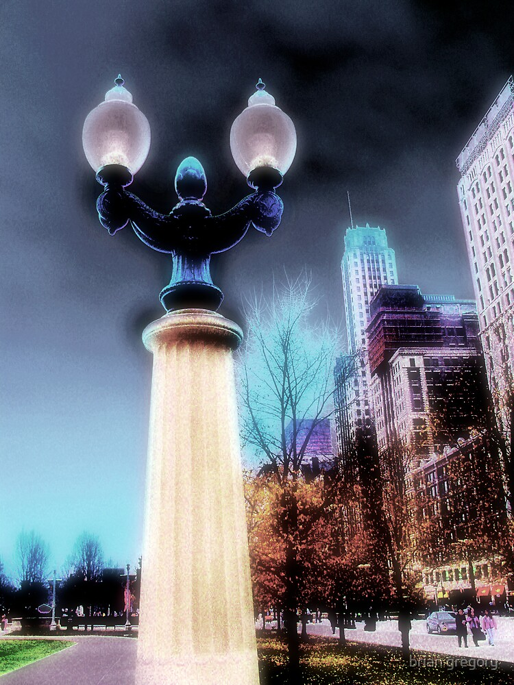 city lights, chicago by brian gregory