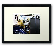 a very old chevy Framed Print