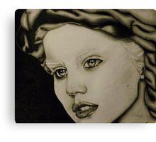She's Got Face Canvas Print