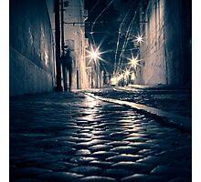 Lisbon by night Photographic Print