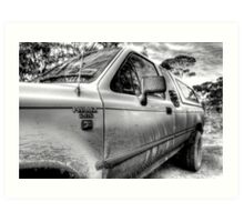 Hilux Tough Art Print