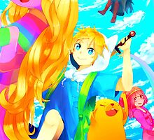 Adventure Time - Kawaii Time  by Optimistic  Sammich