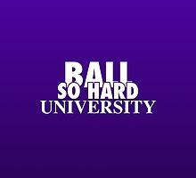 Ball So Hard University Purple by TurnerCreations