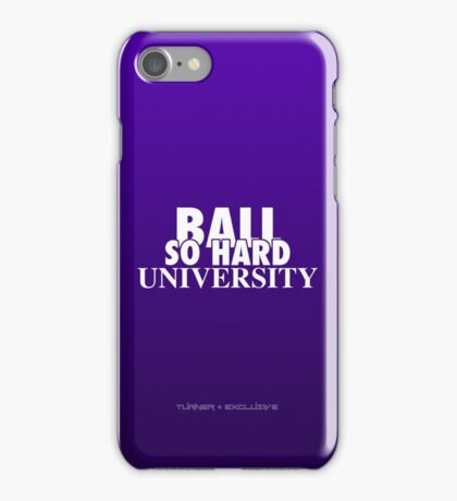 Ball So Hard University Purple iPhone Case/Skin