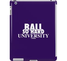 Ball So Hard University Purple iPad Case/Skin