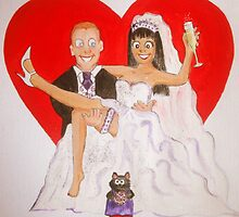 Ginas wedding by Corrina Holyoake