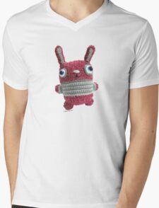 Bunny La Roux Mens V-Neck T-Shirt