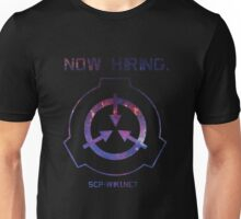 SCP: Now hiring Unisex T-Shirt
