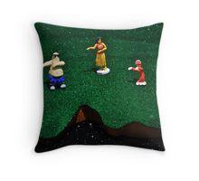 High-fives for Poindexters Throw Pillow