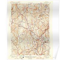 Massachusetts  USGS Historical Topo Map MA Sterling 352232 1946 31680 Poster