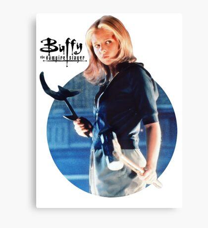 I'm Buffy...the Vampire Slayer Canvas Print