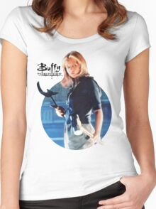 I'm Buffy...the Vampire Slayer Women's Fitted Scoop T-Shirt