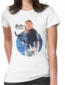 I'm Buffy...the Vampire Slayer Womens Fitted T-Shirt