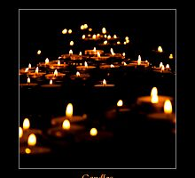 Candles by Enrico Martinuzzi