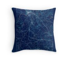 Massachusetts  USGS Historical Topo Map MA Lawrence 352790 1888 62500 Inverted Throw Pillow
