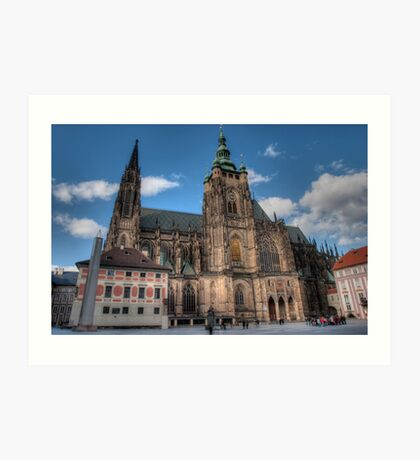 Gothic Towers Art Print