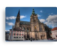 Gothic Towers Canvas Print