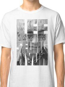BIGBANG Seungri 'Lee Seung Hyun' Typography Classic T-Shirt