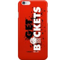 Get Buckets iPhone Case/Skin