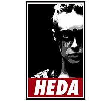 OBEY THE HEDA Photographic Print