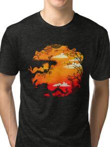 A truce under earthen influences Tri-blend T-Shirt