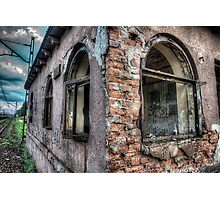 Railway Ruin Photographic Print