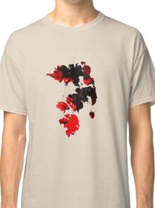 Sun-pierced Red Leaves Classic T-Shirt