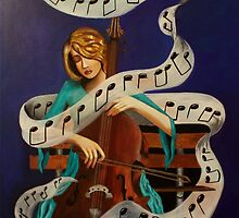 The Cellist by Noelia Garcia