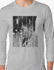 BIGBANG T.O.P 'Choi Seung Hyun' Typography Long Sleeve T-Shirt