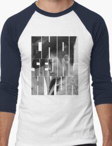 BIGBANG T.O.P 'Choi Seung Hyun' Typography Men's Baseball ¾ T-Shirt