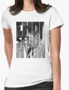 BIGBANG T.O.P 'Choi Seung Hyun' Typography Womens Fitted T-Shirt
