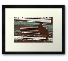 room for a little one Framed Print