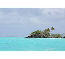 Colours blue Photographic Print