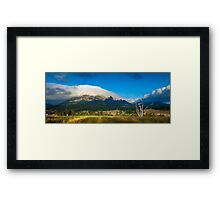 Mount Barney Framed Print